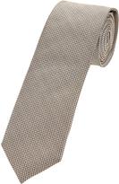 Oxford Silk Tie Blk/Wh