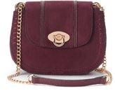 Lauren Conrad Macaron Stitched Saddle Bag