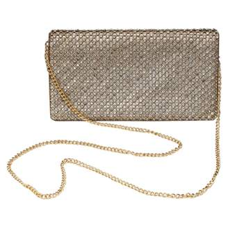 Anonyme Gold Glitter Clutch bags