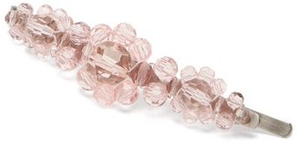 Simone Rocha Flower Crystal-embellished Hair Clip - Womens - Pink