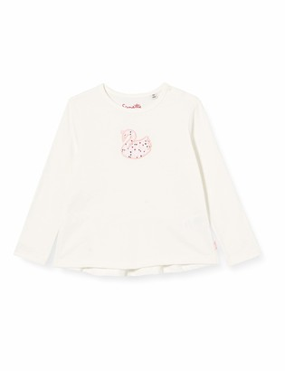 Sanetta Girl's Fiftyseven Shirt Ivory Baby and Toddler T Set