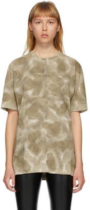 Alyx Khaki Tie-Dye Logo T-Shirt