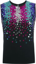 DSQUARED2 star sequin-embellished sleeveless top - women - Polyester/Spandex/Elastane/Acetate/glass - 38