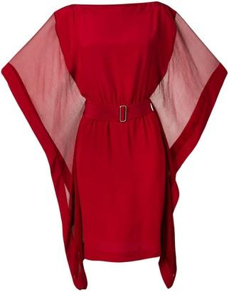 Hermes Pre-Owned Kimono Dress