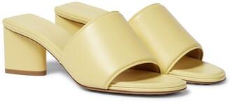 Bottega Veneta The Band leather sandals