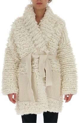 Alanui Fur Stitches Coat