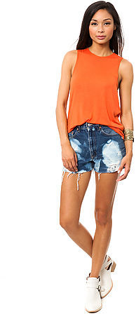 RVCA The Heartache Open Top in Blood Orange
