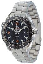 Omega 'Seamaster Planet Ocean' analog watch