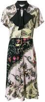 Etro printed flared dress