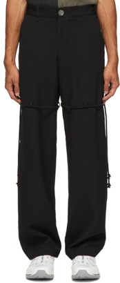 Song For The Mute Black Dress Pant Trousers