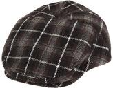 San Diego Hat Company Kids - Plaid Driver (Grey Plaid) - Hats