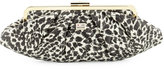 Love Moschino Faux-Leather Trap Clutch Bag, Leather