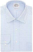 Eagle Men's Classic-Fit Non-Iron Light Blue Check Dress Shirt