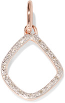 Monica Vinader Riva Kite Rose Gold Vermeil Diamond Pendant - one size