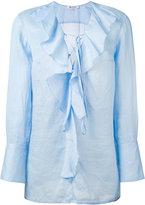 Dondup Bisa blouse - women - Ramie - 40
