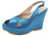 Andrea Bernes 329 Open Toe Synthetic Wedge Heel.