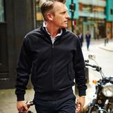 Charles Tyrwhitt Dark navy Melton Harrington jacket