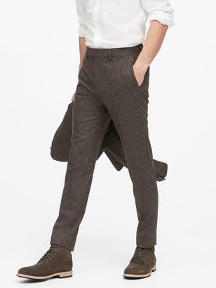 Banana Republic Slim Tapered Donegal Suit Pant