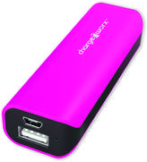 Chargeworx Pink 2000mAh Rechargeable Power Bank