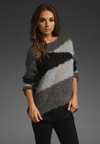 Nolita Abstract Patchwork Sweater
