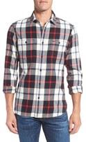 Nordstrom Workwear Trim Fit Flannel Shirt