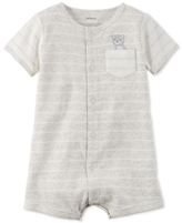 Carter's Striped Bear Romper, Baby Boys (0-24 months)
