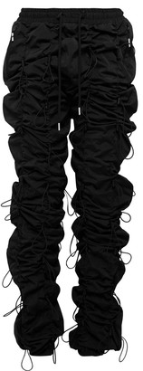 99% Is Gobchang Slim-Fit Tapered Toggled Shell Drawstring Trousers