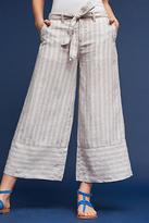 Marrakech Eliana Linen Cropped Wide-Legs