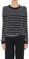 Balmain Women's Button-Embellished Sweater