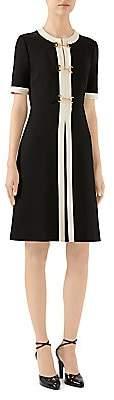 Gucci Women's Stretch Jersey Short-Sleeve Dress