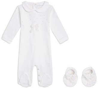 La Perla Kids Diamante All-In-Oneand BootiesSet