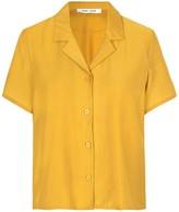 Samsoe & Samsoe Samsoe Samsoe Joni Short Sleeve Shirt in Honey