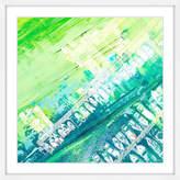 Parvez Taj Green Haze Framed Print
