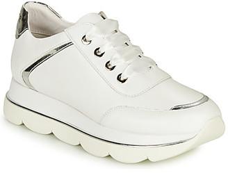 CAFe'NOIR MENIAZ women's Shoes (Trainers) in White