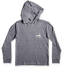 Quiksilver Boys' Zermet Striped Hoodie - Big Kid