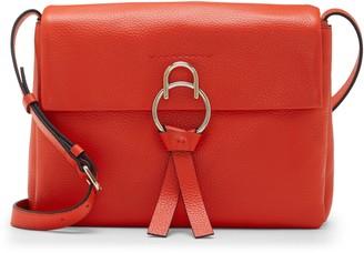 Vince Camuto Plum Leather Shoulder Bag