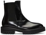 Yang Li Black Leather Chelsea Boots