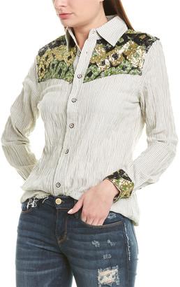 Etienne Marcel Sequin Woven Shirt