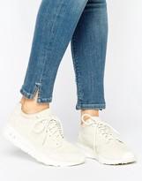 Le Coq Sportif Beige Nubuck Flow Sneakers