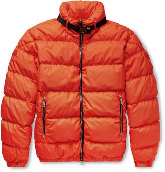MONCLER GENIUS 6 Moncler 1017 ALYX 9SM Quilted Coated-Cotton Down Jacket - Men - Orange