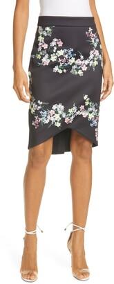 Ted Baker Frreja Pergola Floral Pencil Skirt