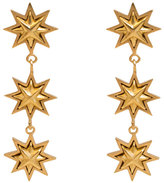 Stephanie Kantis Triple Starburst Drop Earrings