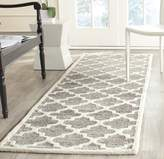 Safavieh PRE152G-28 Precious Collection Handmade Polyester Runner, 2-Feet 6-Inch by 8-Feet