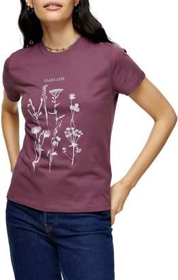 Topshop organic: PLANT LIFE CONSIDERED Organic Cotton Plant Life T-Shirt