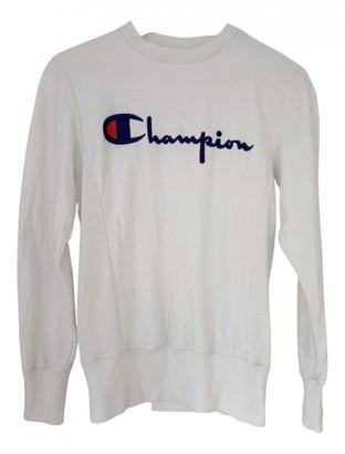 Champion White Cotton Knitwear
