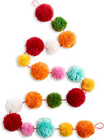 Holiday Lane Yarn Ball Pom Pom Garland, Created for Macy's