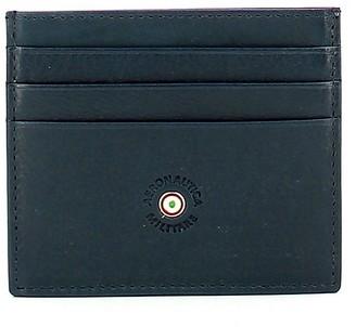 Aeronautica Militare Petrol Blue Men's Card Holder