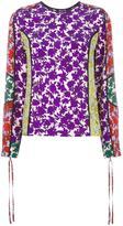 MSGM floral print blouse - women - Silk - 38