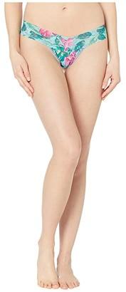 Hanky Panky Moonflower Low Rise Thong (Multi) Women's Underwear