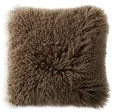 Donna Karan Flokati Fur Decorative Pillow, 20 x 20